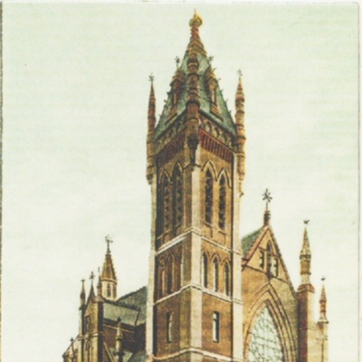 1890's Postcard of St. Dominic's Church