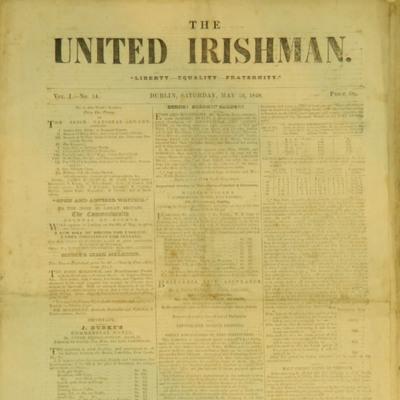 United Irishman Vol I - No 14 - 1848.05.13