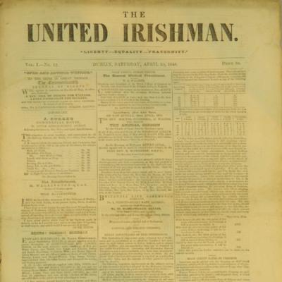 United Irishman Vol I - No 12 - 1848.04.29